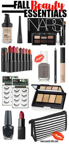 The BEST Fall beauty esentials!