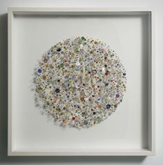 Chris Kenny: Proliferation 2010, Collage construction with map pieces
