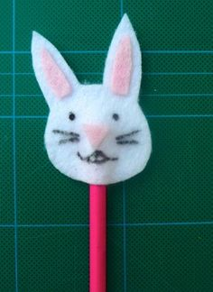 Cute Bunny Pencil Toppers