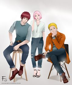 Naruto, Sakura, Sasori by Arai14 (Fanfiction  ACCIDENTALLY IN LOVE by Icha-Icha Fairy)