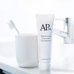 AP 24 Anti-Plaque Fluoride Toothpaste uses a safe, gentle form of fluoride to remove plaque and protect against tooth decay. Ap 24 Whitening Toothpaste, Whitening Fluoride Toothpaste, Best Teeth Whitening, Nu Skin, How To Prevent Cavities, White Teeth, Beauty Products, Skin Products, Instagram Ideas