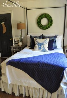 Guest Bedroom  by Dear Lillie