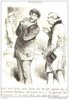 Vaterstolz /Cartoon,entnommen aus Zeitschrift /Datum unbekannt, Vermutl Anfang 20.Jh