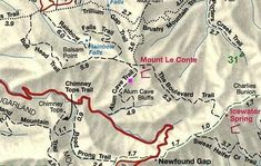 Mt LeConte - Hike the Alum Cave Trail to Mt LeConte in Smoky Mountains