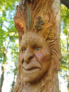 I'd want this carved on a tree in my yard :) Tree Sculpture, Sculptures, Lion Sculpture, Tree Carving, Carving Wood, Fairytale Creatures, Mythical Creatures, Nothing Gold Can Stay, In The Tree