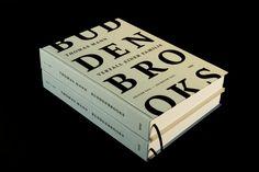 """Buddenbrooks"" by Thomas Mann - Designed by Kristin Neve Editorial Layout, Editorial Design, Web Design Mobile, Packaging, Branding, Communication Design, Book Design, Behance, Graphic Design"