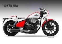 Yamaha XV950 RR Sport Solo concept