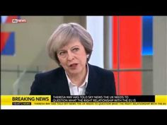 Theresa May on Brexit: I'm not muddled