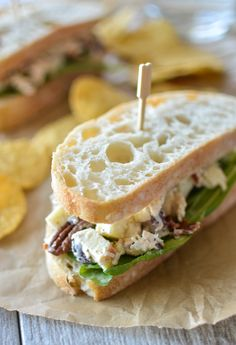 Harvest Chicken Salad with Apples and Pecans