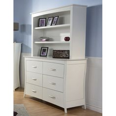 Pali Designs Trieste Double Dresser with Optional Hutch - PALI107