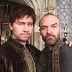 Bash (Torrance Coombs) and King Henry (Alan Van Sprang) from Reign