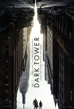 Starring Idris Elba and Matthew McConaughey in the lead, The Dark Tower is directed by Nikolaj Arcel. - Try finding Idris Elba and Matthew McConaughey in this intriguing new poster of The Dark Tower Idris Elba, The Dark Tower 2017, Dark Tower Movie, Matthew Mcconaughey, Hd Movies Online, New Movies, Good Movies, 2017 Movies, Movies Free