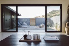 Grounded in natural beauty that carries from the outdoors in, Villa Kuro is a vacation rental encouraging visitors to meditate + relax.