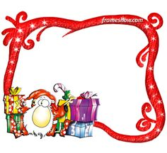 Santa Claus - Christmas photo frame/e-card