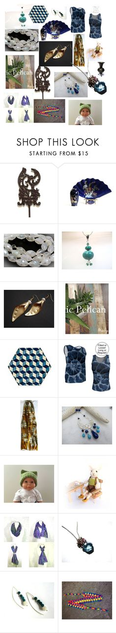 """""""Beautiful Gifts on Etsy"""" by anna-recycle ❤ liked on Polyvore featuring Lazuli, modern, rustic and vintage"""