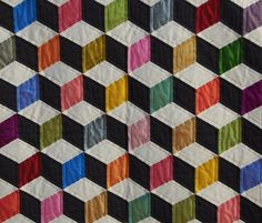 quirky quilts...Qbert would love this