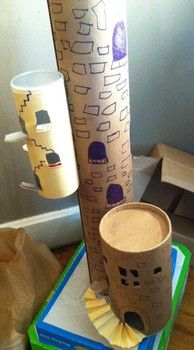 Tower of Babel Craft. This craft will help you prepare your Sunday school lesson on Genesis 11:1-9 on the Bible story of Tower of Babel.