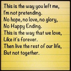 Happy Ending (aka. BDT's Movin On dance) lyrics - Mika. i love this song so much.