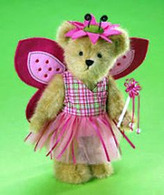 "Boyds Bear ""Marisol Flutterlee"" 10"" Plush Bear - #4013337 ~-NWT - 2008-Retired"