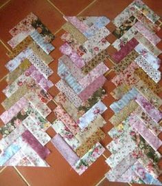 This is my Faux Braid quilt and there were suggestions to run the tutorial here. There are various types of Braid designs : Thi...