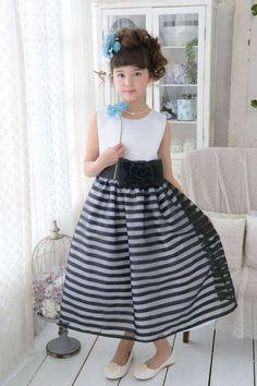 c05f5d656a7f0 子供ドレス ピアノ発表会ドレス 1-981(130cm)ホワイト/ブラック 青い鳥