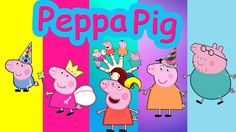 Finger Family Peppa Pig Nursery Rhymes for Children | Peppa Pig daddy Fi...