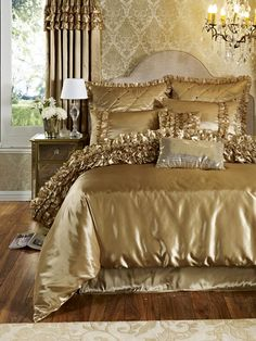 All That Glitters Is Gold On Pinterest Curtain Rails
