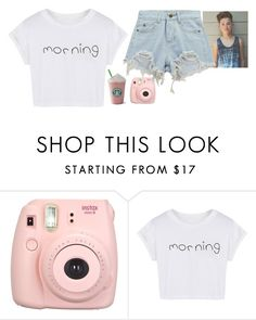 """""""Starbucks with Jacob Sartorius"""" by jxst-like-galaxy ❤ liked on Polyvore featuring Fujifilm, WithChic, Chicnova Fashion, starbucks, jacobsartorius and Jacobmahbae"""