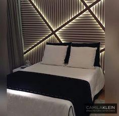 Inspiração ♡ #interiores #design #interiordesign #decor #decoração #decorlovers #archilovers #inspiration #ideias #dormitório #quarto #bedroom #camilaklein