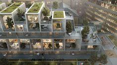 Housing | WHITE | Vaktaren | Norway | 2014 | Exterior #tegmark #works…