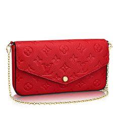 Louis Vuitton Shoulder Bags Monogram EMPREINTE Felice 4