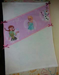 Asciugamano asilo frozen , by francycreations non solo idee regalo, 7,00 € su misshobby.com