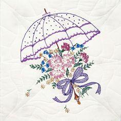 ... umbrella item 493867 fairway needlecraft quilt blocks umbrella these