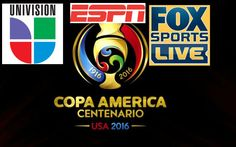 Copa America 2016 Live Telecast in India on Sony Six Sony ESPN TV channel