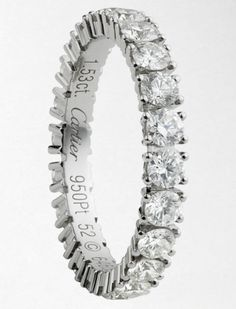 cartier wedding band platinum and carats of diamonds want this to match my engagement ring please - Cartier Wedding Rings