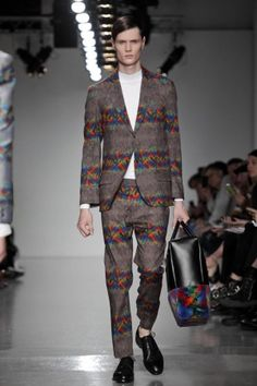 Agi & Sam Spring Summer Menswear 2014 London