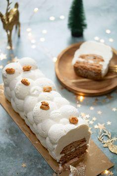 Felder peanut pirouette log - Peanut caramel vanilla - bûches - Healt and fitness Cake Recipes From Scratch, Best Cake Recipes, Pound Cake Recipes, Sweet Recipes, Summer Dessert Recipes, No Cook Desserts, Easy Desserts, Pirouette Cacahuete, Southern Pound Cake