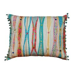 Cottage Home Ribbon Decorative Pillow | Overstock.com Shopping - Great Deals on Cottage Home Throw Pillows