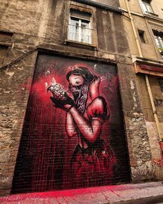The Big Bad Apple - By Artist Goin, in Grenoble, France.