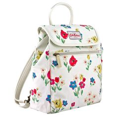 CATH KIDSTON 2015 EXCLUSIVE Paradise Bunch Handbag & Backpack White SALE GENUINE