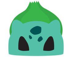 No costume? No problem! Heres a printable Bulbasaur (Pokemon) mask which you… Pokemon Masks, Pokemon Costumes, Pokemon Birthday Card, Pokemon Party, Pikachu, Pokemon Printables, Transformer Party, Printable Masks, Free Printable
