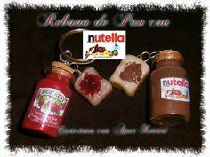 Rebanada de Pan con Nutella (Porcelana Fria)/Slice of bread with Nutella