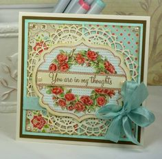 FS263 A Rose for Becky by BeckyTE - Cards and Paper Crafts at Splitcoaststampers