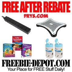 FREE AFTER REBATE – Fry's Electronics exp 1/31