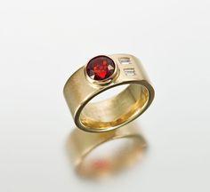 Custom Wedding Rings | Janis Kerman Design