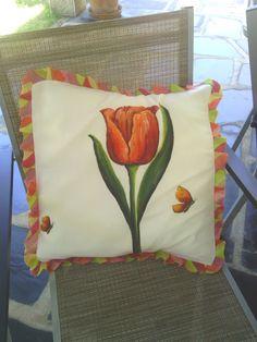 Mis trabajos de trapo y otros cuentos.: Un macro-tulipán.