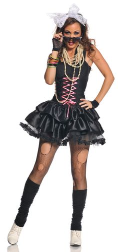 Women's Totally Awesome 80's Costume - Candy Apple Costumes - Women's 80s Costumes