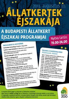 Állatkertek Éjszakája | Állatkert Budapest szívében