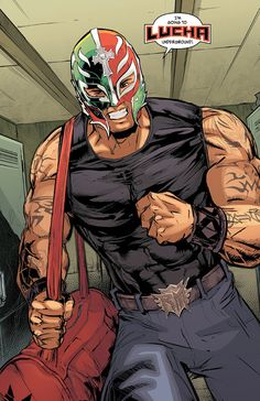 Lucha Underground is probably the single best superhero show on television, and it's promoting the start of the second season by branching out into comics. Lucha Underground, Wrestling Superstars, Wrestling Wwe, Wwe Lucha, Catch, Eddie Guerrero, Best Superhero, Wwe Wallpapers, Free Comics