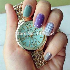 Colorful Watch Dial Geneva Roman Numberal Waterproof Women Hand Watch 2015 - http://www.aliexpress.com/item/Colorful-Watch-Dial-Geneva-Roman-Numberal-Waterproof-Women-Hand-Watch-2015/32369540915.html